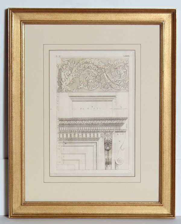 4011: Architectural Engraving, 19th Century