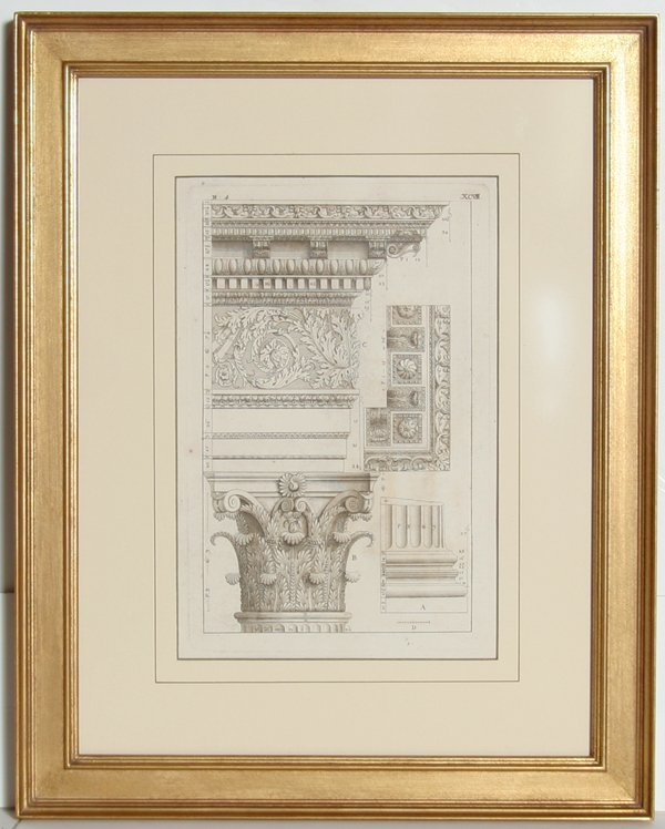 4013: Architectural Engraving, 19th Century