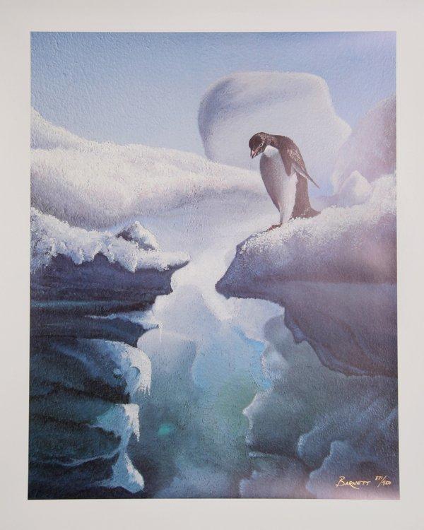4020: Lynne Barnette, Penguin, Offset Lithograph