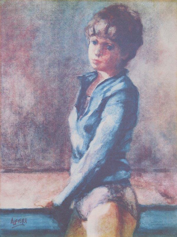 702: P. Alfieri, Dancer, Lithograph