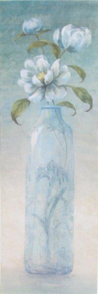 717: Viv Bowles, Blue Crystal, Floral Offset Lithograph