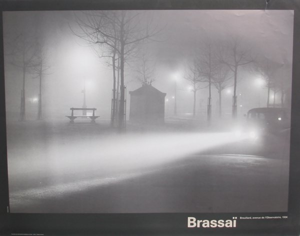 721: Brassai, Brouillard Avenue, Poster