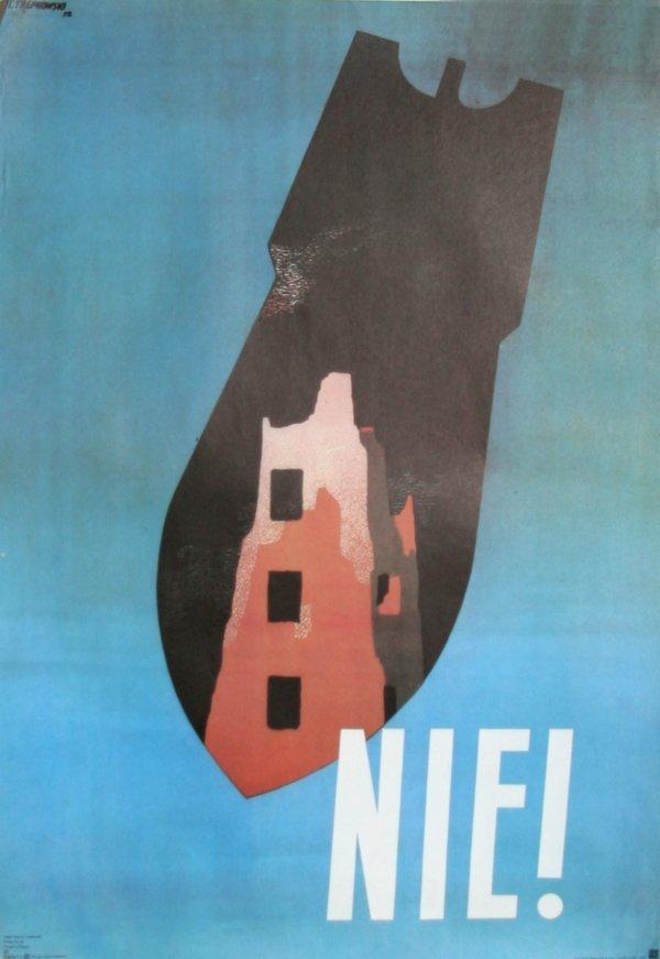 975: Tadeusz Trepkowski, Nie, Polish Poster