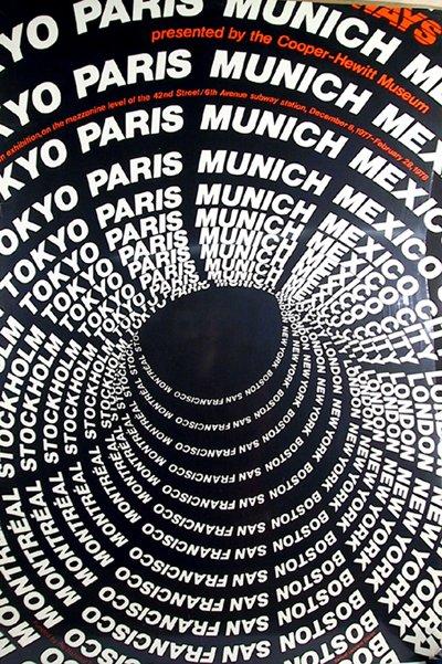 10: Vintage Travel Poster, New York, Tokyo, Munich...