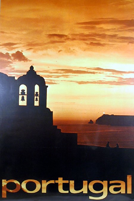 10: Vintage Travel Poster, circa 1967, Portugal