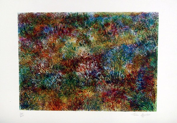 20: Thelma Appel Signed Lithograph, Landscape, Wallooms