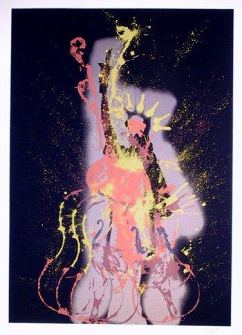 23: Arman Signed Silkscreen, Statue of Liberty