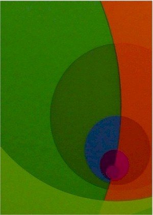 2001: Herbert Aach Signed Lithograph, Optical Art