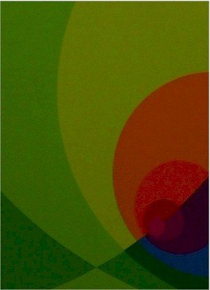 2002: Herbert Aach Signed Lithograph, Optical Art