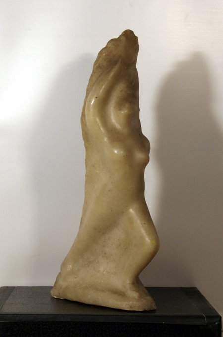 2366: Resin Sculpture of Nude Woman