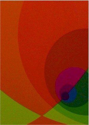 2676: Herbert Aach, Signed Lithograph, Optical Art