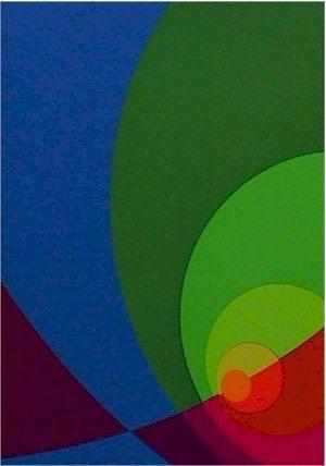 2677: Herbert Aach, Signed Lithograph, Optical Art