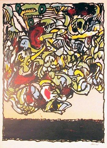 2680: Pierre Alechinsky Vintage Poster