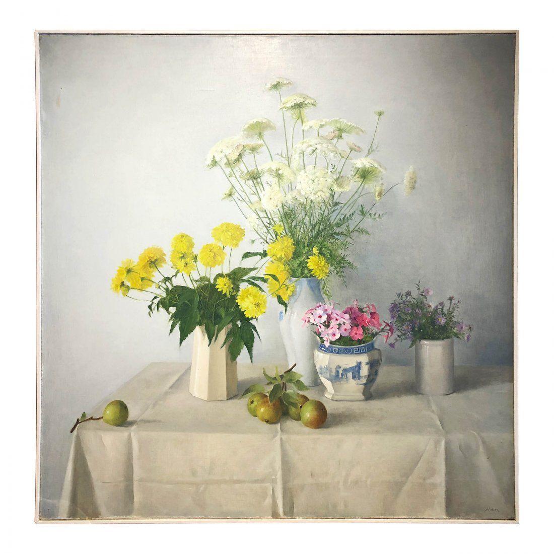 Original Oil Painting on Canvas by Raymond Han