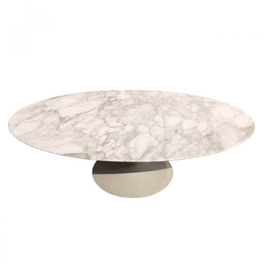 Mcm Eero Saarinen For Knoll Large Oval Coffee Table