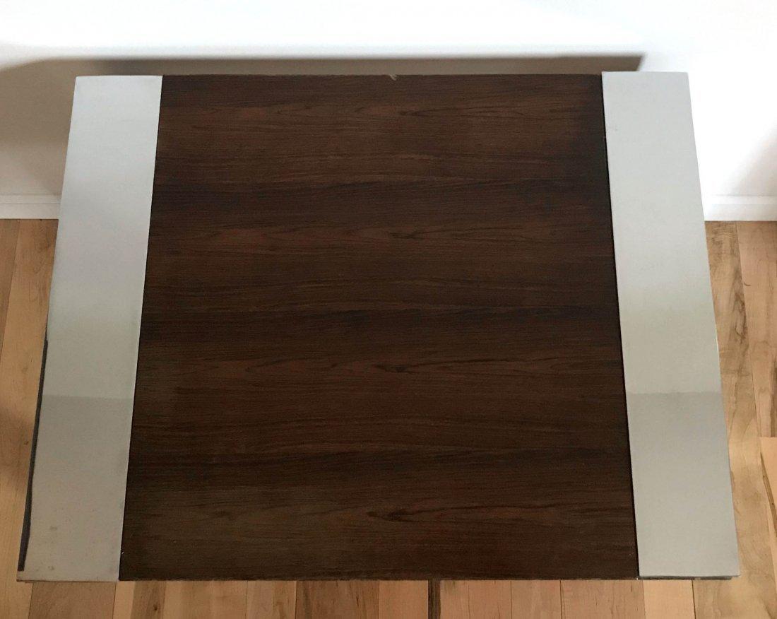 MCM Milo Baughman Rosewood Flat Bar Table - Thayer Cog - 4