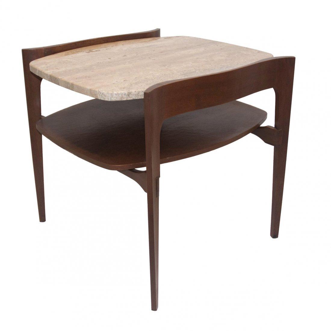 MCM Italian Bertha Schaefer Modern Side Table 1950