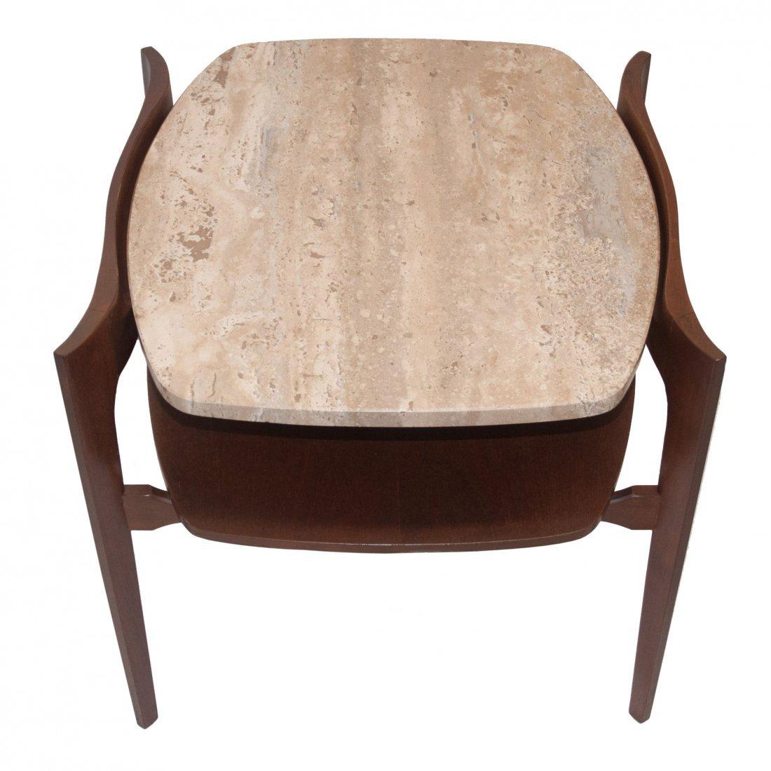 MCM Italian Bertha Schaefer Modern Side Table 1950 - 2