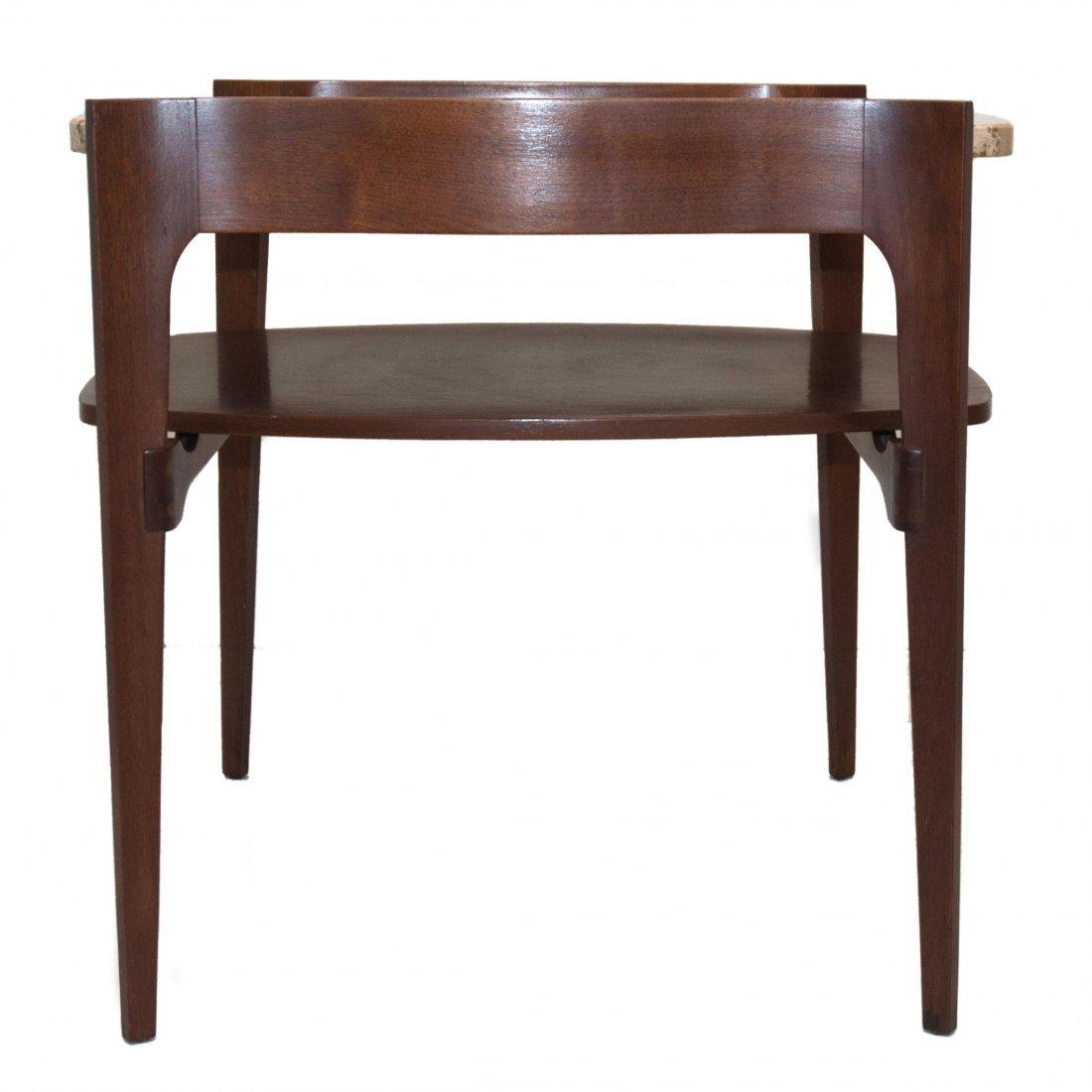 MCM Italian Bertha Schaefer Modern Side Table 1950 - 3