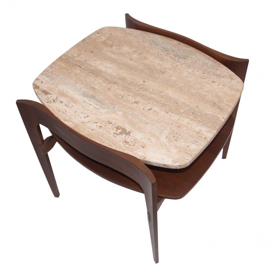 MCM Italian Bertha Schaefer Modern Side Table 1950 - 4