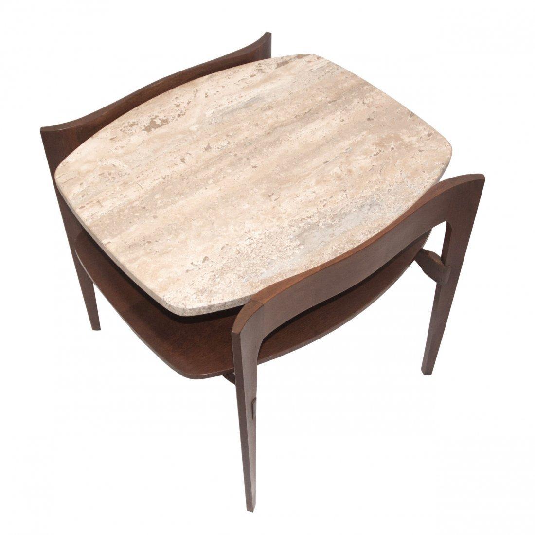 MCM Italian Bertha Schaefer Modern Side Table 1950 - 5