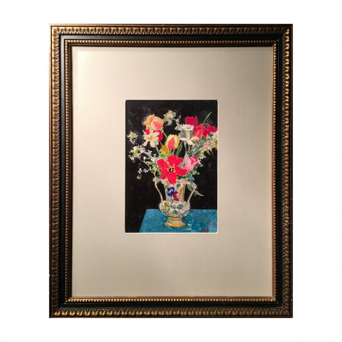 Original Still Life Oil Painting by Richard Jerzy