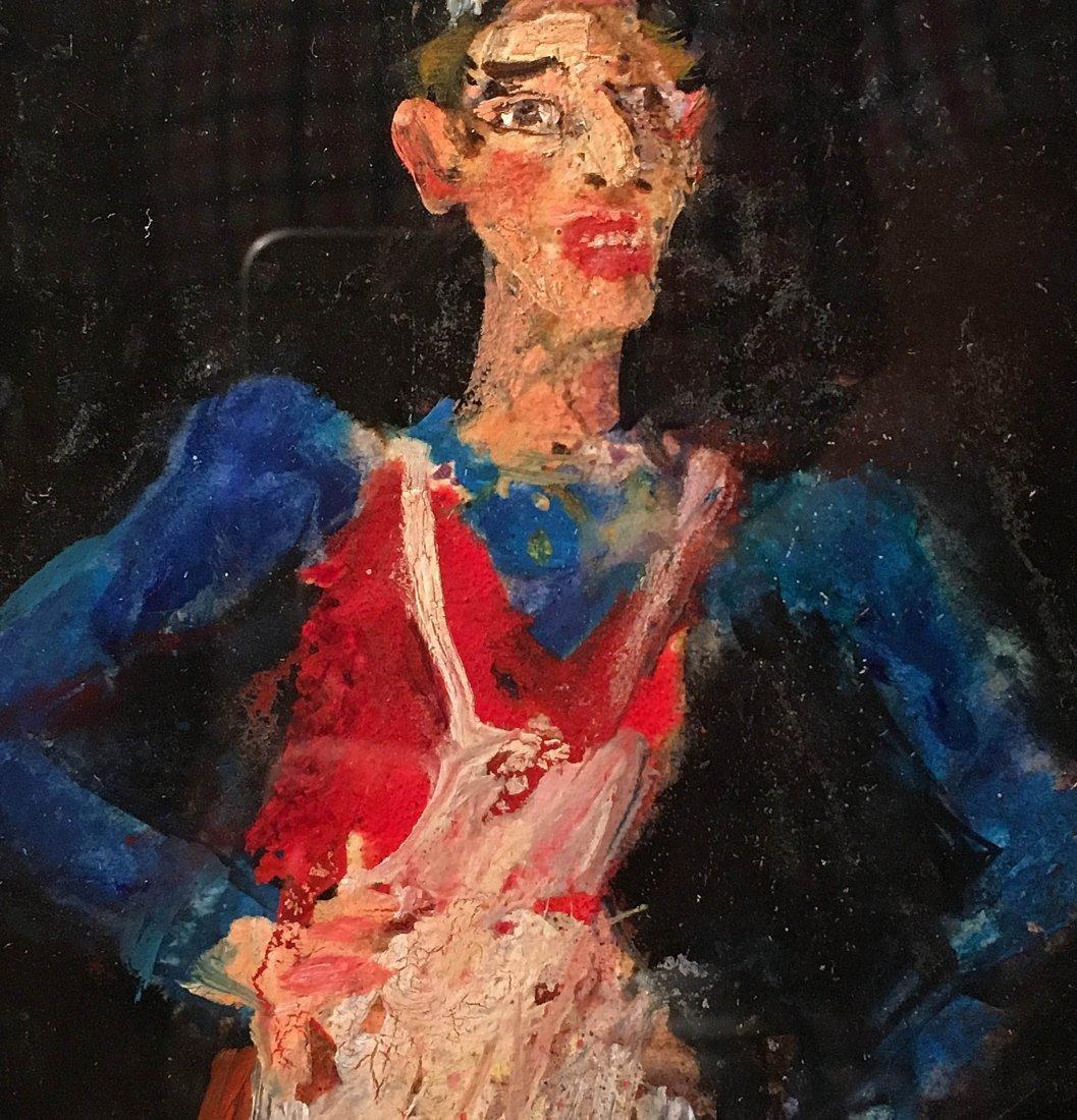 Original Oil Painting by American Artist Richard Jerzy - 2
