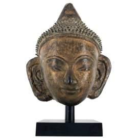 Wonderful 17th century Burmese Stucco Buddha