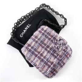NWT New Chanel Boucle Tweed Messenger Bag