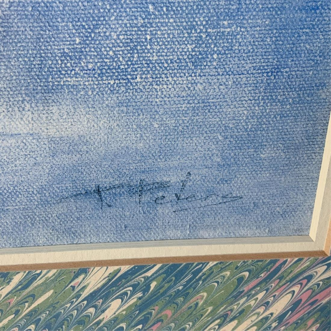 Original Signed Framed Floral Oil Painting 1978 - 5