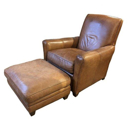 Miraculous Macys Modern Concepts Leather Club Chair Ottoman Inzonedesignstudio Interior Chair Design Inzonedesignstudiocom