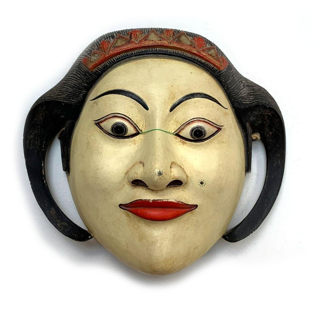 Vintage Balinese Dance Mask