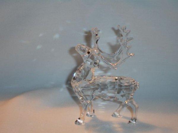 16: Swarovski Crystal Reindeer