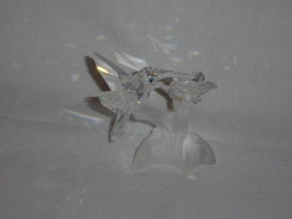 17: Swarovski Crystal Hummingbird