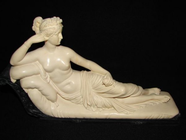 18: Marble reclining nude