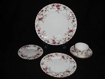 98: Minton china, Ancestral pattern