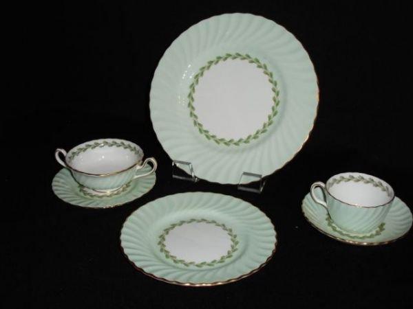 99: Minton china, Cheviot pattern
