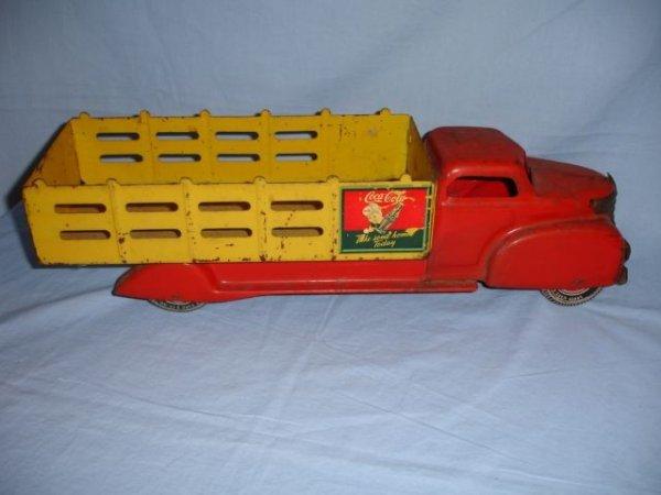 12: 1940 Marx Coca Cola Truck