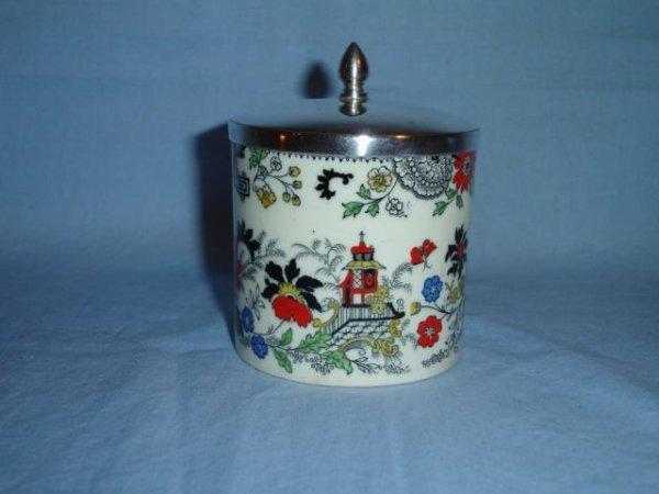 13: Coalport Kingsware Canton Marmalade Jar