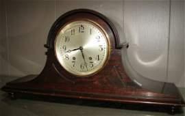137: 1920's Seth Thomas Tambour Mantle Clock