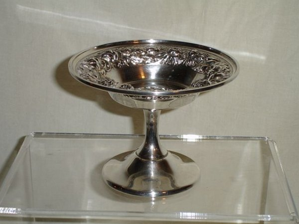 13: Stieff Rose Sterling Silver Compote
