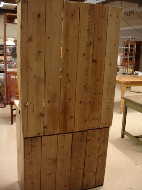 16: Pine Cabinet with Hutch - 2