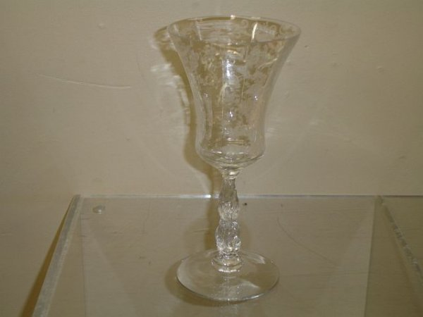 17: 11 Cambridge Chantilly #3625 Water Goblets