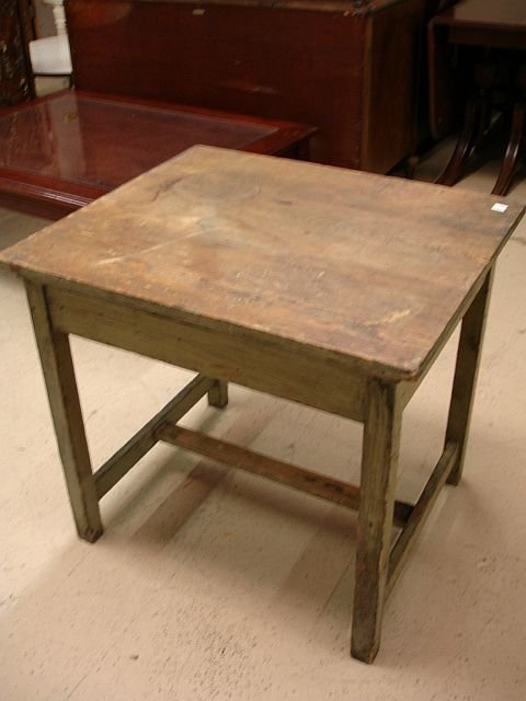 21: Painted Antique Work Table