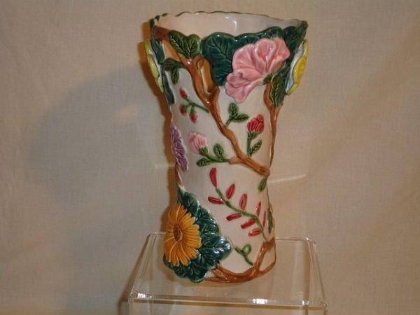 124: 1995 Fitz and & Floyd Floral Vase