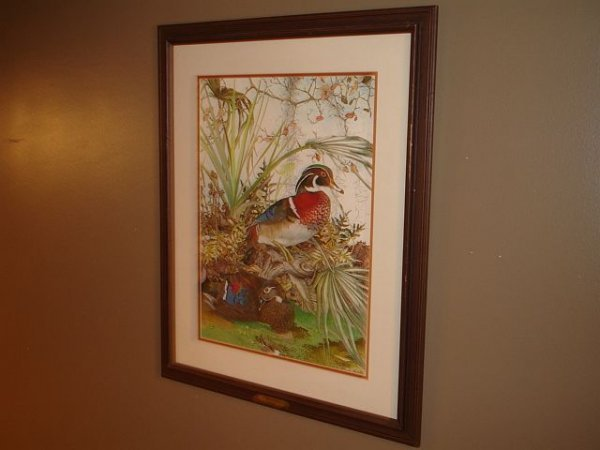 129: Limited Edition Sallie Middleton Wood Ducks