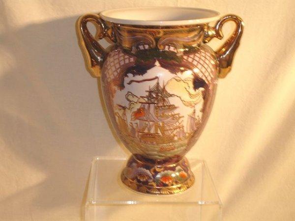191: Pair Decorative Vases, Andrea by Sadek
