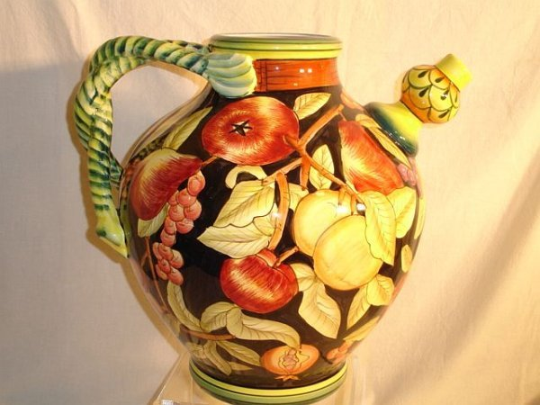 199: International Housewares Decorative Painted Jug