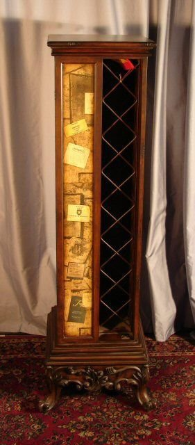 194: Pulaski Revolving Wine Rack