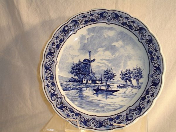 """218: Royal Sphinx Maastricht 12"""" Delft Charger"""